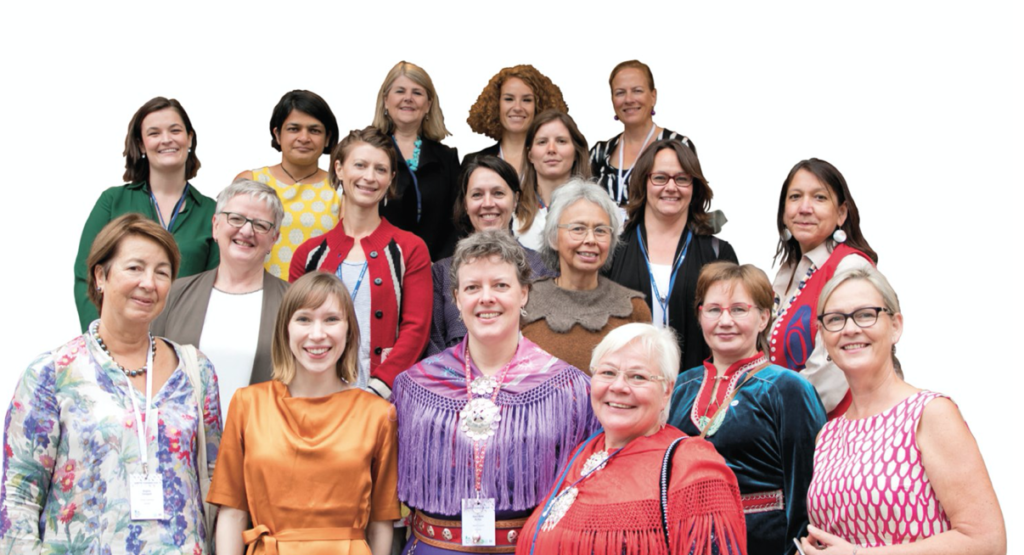 Attendees at the Women of the Arctic session